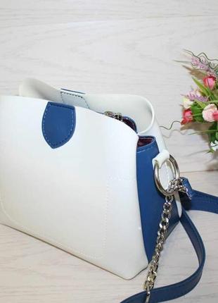 Роскошная новая сумка через плечо люкс качество2 фото