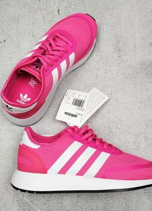 Оригинал розовые кроссовки adidas originals n-5923 uk 6, 39 1/3, 24,2 см