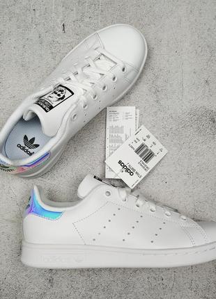 Оригинал кроссовки adidas stan smith uk 4, 36 2/3, 22,5 см