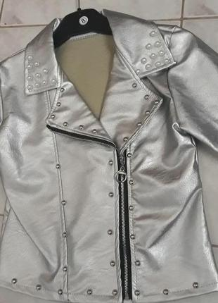 Куртка косуха на девочку рост 146-152 италия
