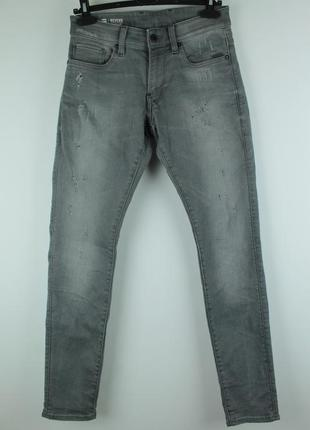 Оригинальные стильные джинсы от крутого бренда g-star raw revend super slim jeans