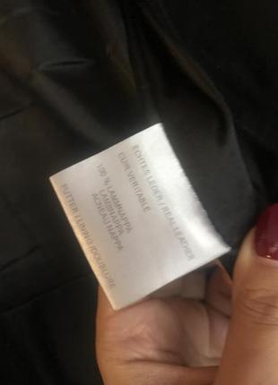 Замшевая куртка с меховым воротником5 фото