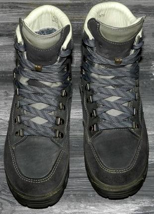 Lowa l gore-tex! оригинальные, кожаные, невероятно крутые трекинговые ботинки