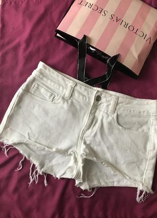 Джинсові шорти джинсовые шорты вікторія сікрет victoria's secret