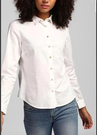 Классическая белая рубашка levi's p. м