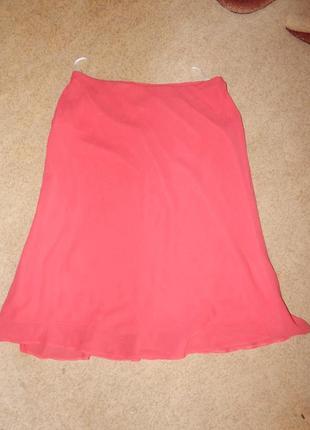 Красивая летняя расклешенная  юбка