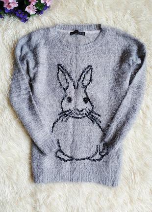 ♠️ вязаный джемпер свитер-травка atmosphere, рукав 3/4 ♠️