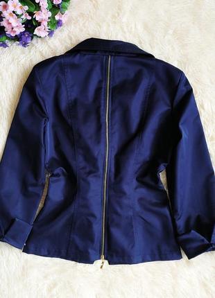 ♠️ короткий приталенный пиджак блейзер exclusive, рукав 3/4 ♠️2 фото