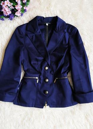 ♠️ короткий приталенный пиджак блейзер exclusive, рукав 3/4 ♠️