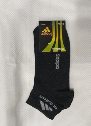 Мужские короткие носки сетка