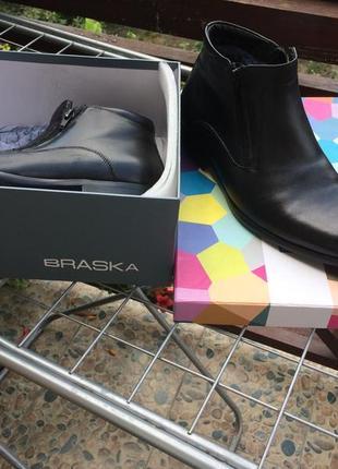 Зимові чоловічі ботинки braska 41 розмір