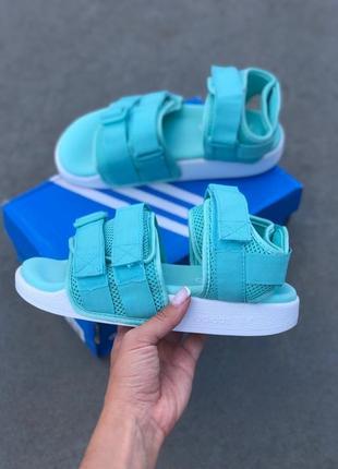 Крутые босоножки 🔥 adidas sandal mint 🔥