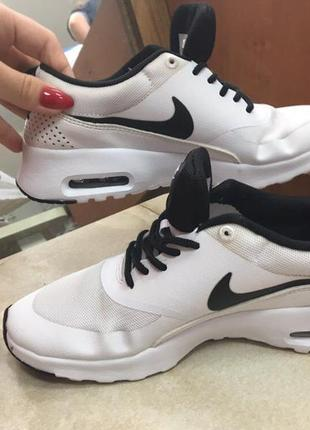Nike air max thea женские белые кроссовки 37размер