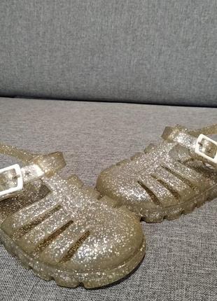 Ju ju желейки силиконовые резиновые сандалии босоножки