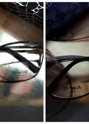 Очки оправа для диоптрий, под замену, под вставку линз