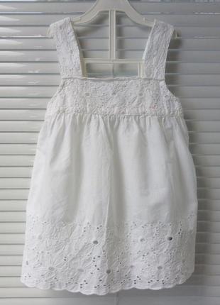 Рубашка m&s 6-8 лет
