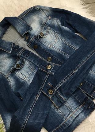 Джинсова курточка3 фото