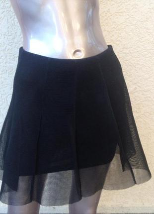 Классная черная юбочка