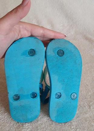 Флип- флоп, шлепки, сандалии disney p. 26 стелька 16,5 см5 фото