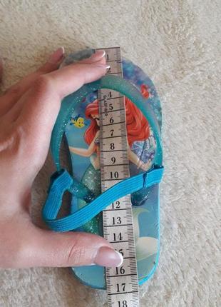 Флип- флоп, шлепки, сандалии disney p. 26 стелька 16,5 см6 фото