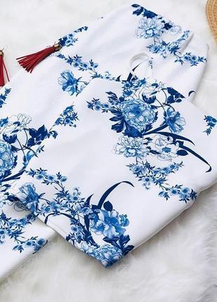 🍇 шикарный костюм в цветочный принт boohoo! 🍉размер 12