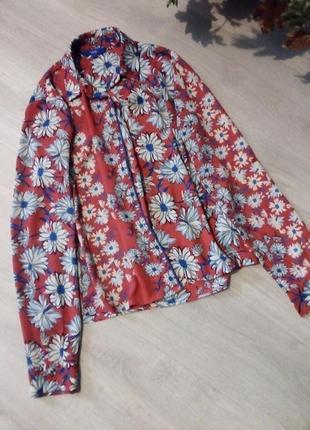 Брендовая рубашка блузка