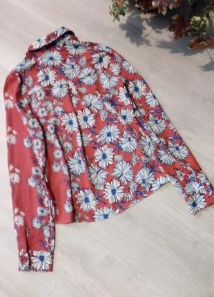 Брендовая рубашка блузка6 фото