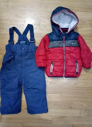 Набор верхней одежды зима на 9-12-18 мес