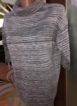 Новый свитерок /водолазка с биркой peppercom