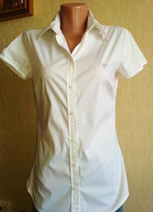 Брендовая базовая рубашка блуза,р.36