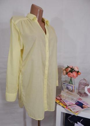 Пляжная туника-рубашка h&m, размер 40(46-48)