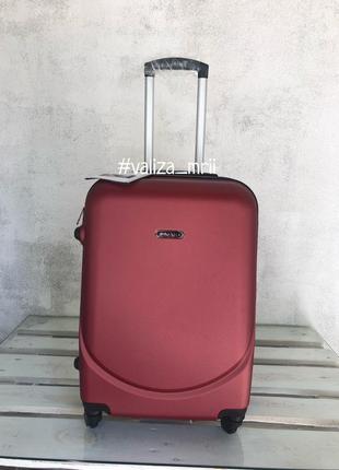 Качественный чемодан bagia якісна валіза