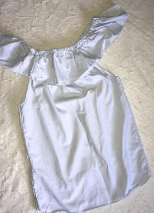 Рубашка /укорочённое платье/открытые плечи