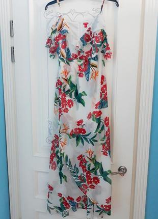 Красивое летнее платье guess