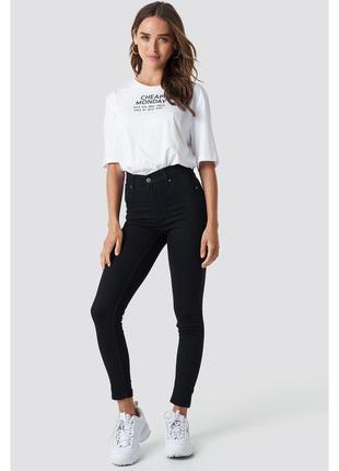 Чернве джинсы скинни