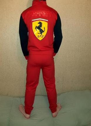 Продам детский спортивный костюм ferrari2 фото