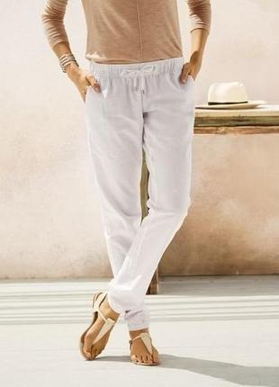 Суперские ляные брюки германия esmara в лоте белые р евро 38