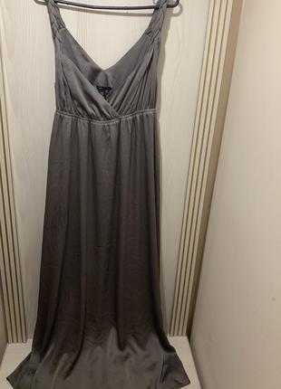 Длинное платье сарафан в пол от h&m с/м-м/л