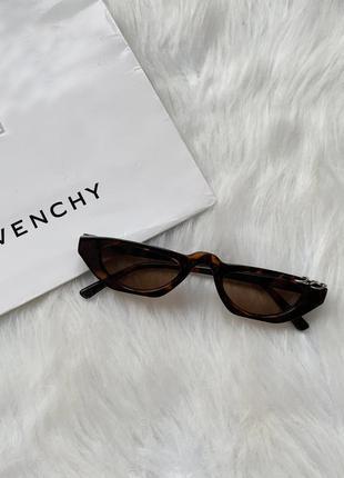 Очки, окуляри, имиджевые очки, стильные очки, леопардовые, леопардові