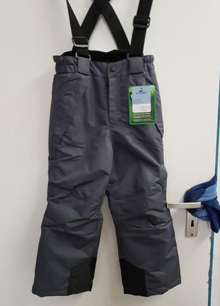Лыжные термо штаны crane kids германия разные размеры