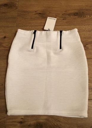 Бандажная юбка bershka