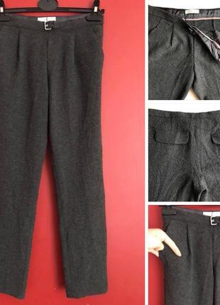 Стильные штаны zara girls / classic pants wool / 116-128-140-158-164 xs/s