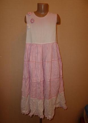 Monsoon легкое хлопчатое платье, сарафан, очень приятное к телу