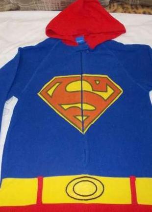 ... Пижама кигуруми комбинезон супермен унисекс р.s рост 168-175см2 ... 279ed2567a3cf