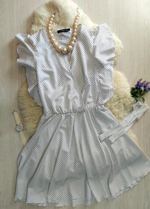 Легка сукня у трендовий горошок
