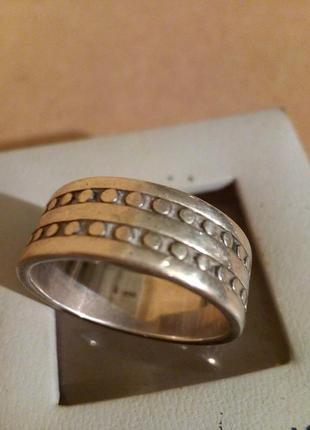 Кольцо болт 925* унисекс