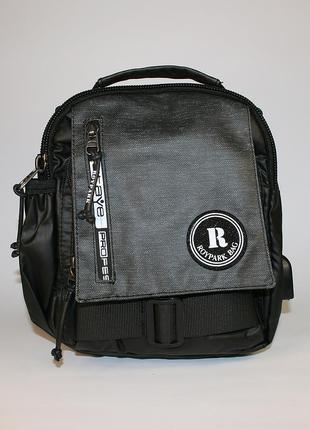 Сумка мужская на плечо, городской рюкзак - одна лямка, полиэстер - skybow
