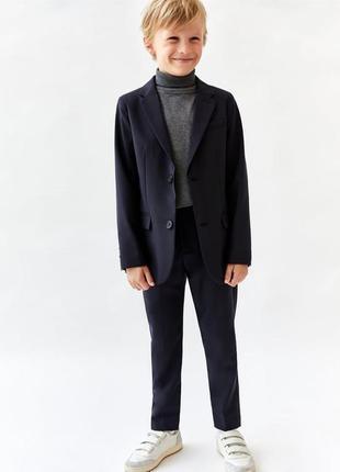 Синий фирменный школьный костюм на мальчика f&f