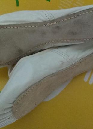Классные фирменные кожаные чешки , балетки, танцевальные3 фото