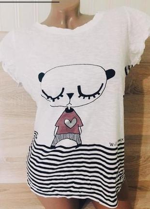 Новая футболка с мишкой henry holland